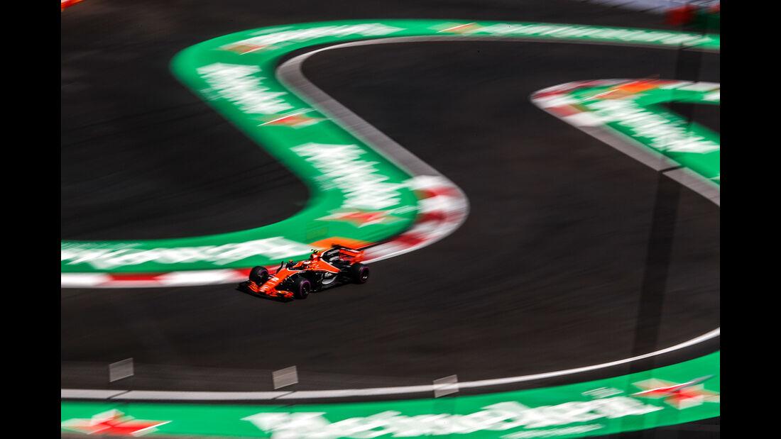 Stoffel Vandoorne - McLaren-Honda - GP Mexiko 2017 - Qualifying