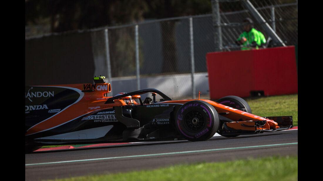 Stoffel Vandoorne - McLaren-Honda - GP Mexiko - Formel 1 - Freitag - 27.10.2017