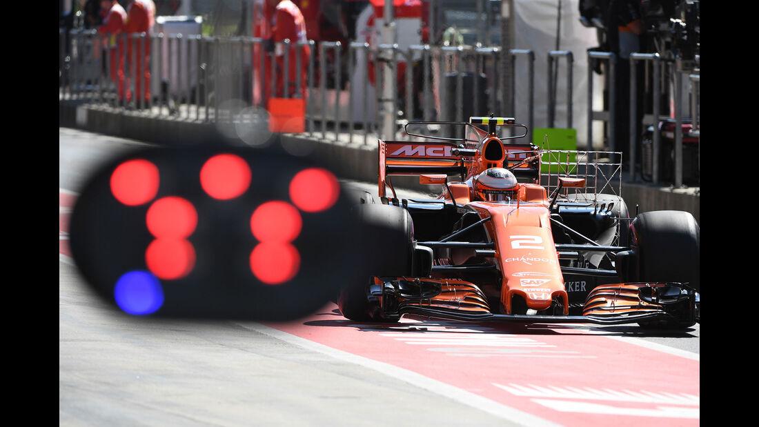 Stoffel Vandoorne - McLaren-Honda - GP Österreich - Spielberg - Formel 1 - Freitag - 7.7.2017