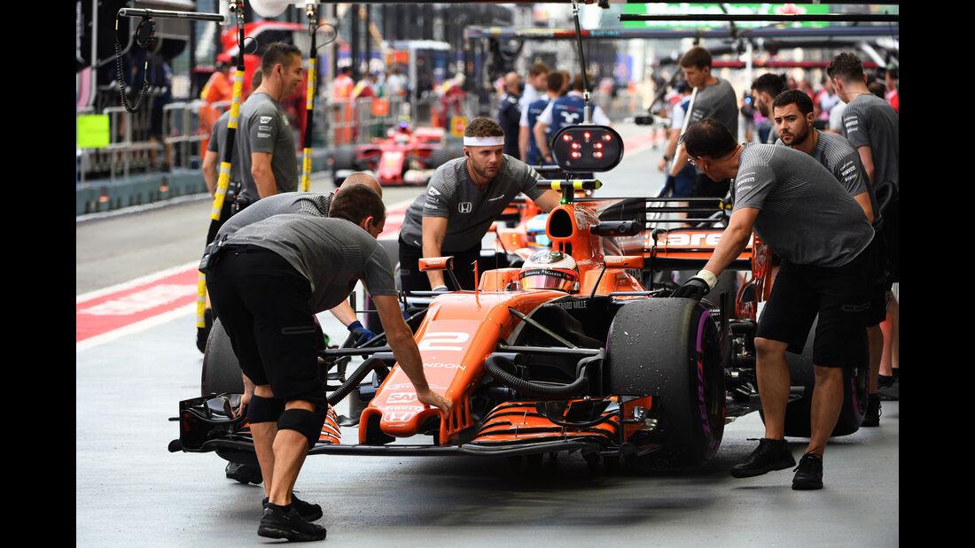 Stoffel Vandoorne - McLaren-Honda - GP Singapur - Formel 1 - Freitag - 15.9.2017