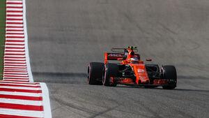Stoffel Vandoorne - McLaren-Honda - GP USA 2017 - Qualifying