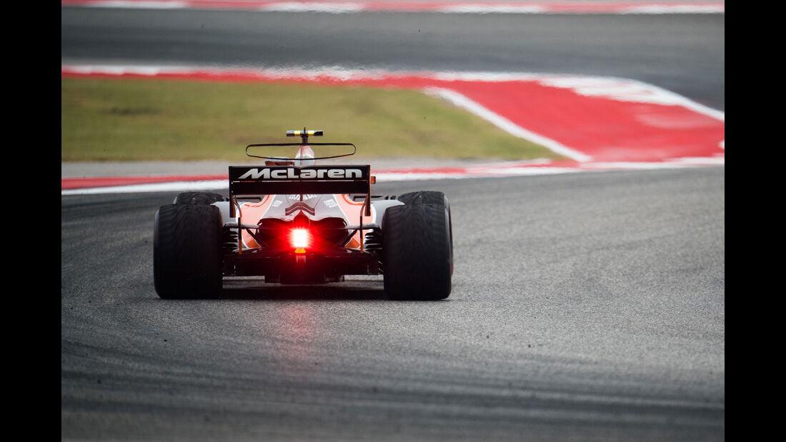 Stoffel Vandoorne - McLaren-Honda - GP USA - Austin - Formel 1 - Freitag - 20.10.2017