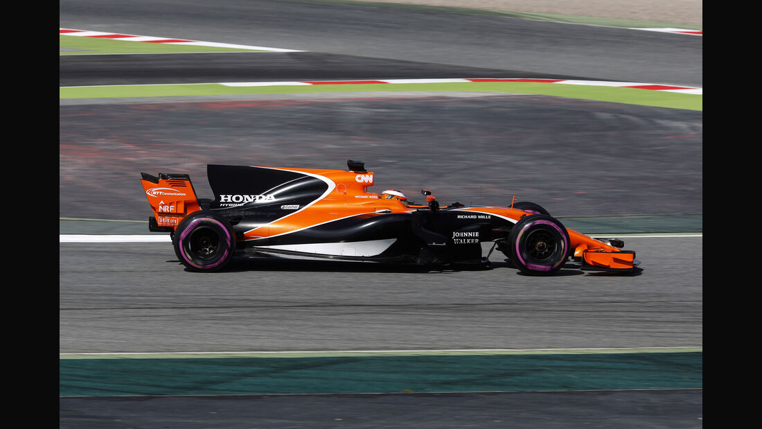 Stoffel Vandoorne - McLaren MCL32 - F1-Test - Barcelona