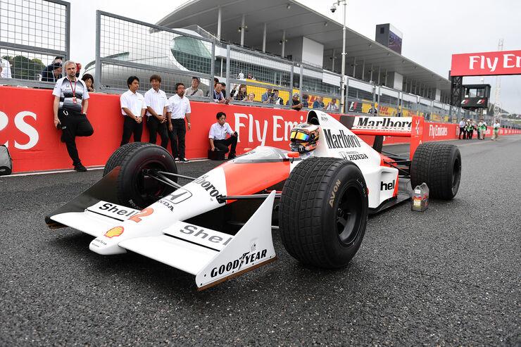 Stoffel Vandoorne - McLaren MP4/5 - GP Japan 2016