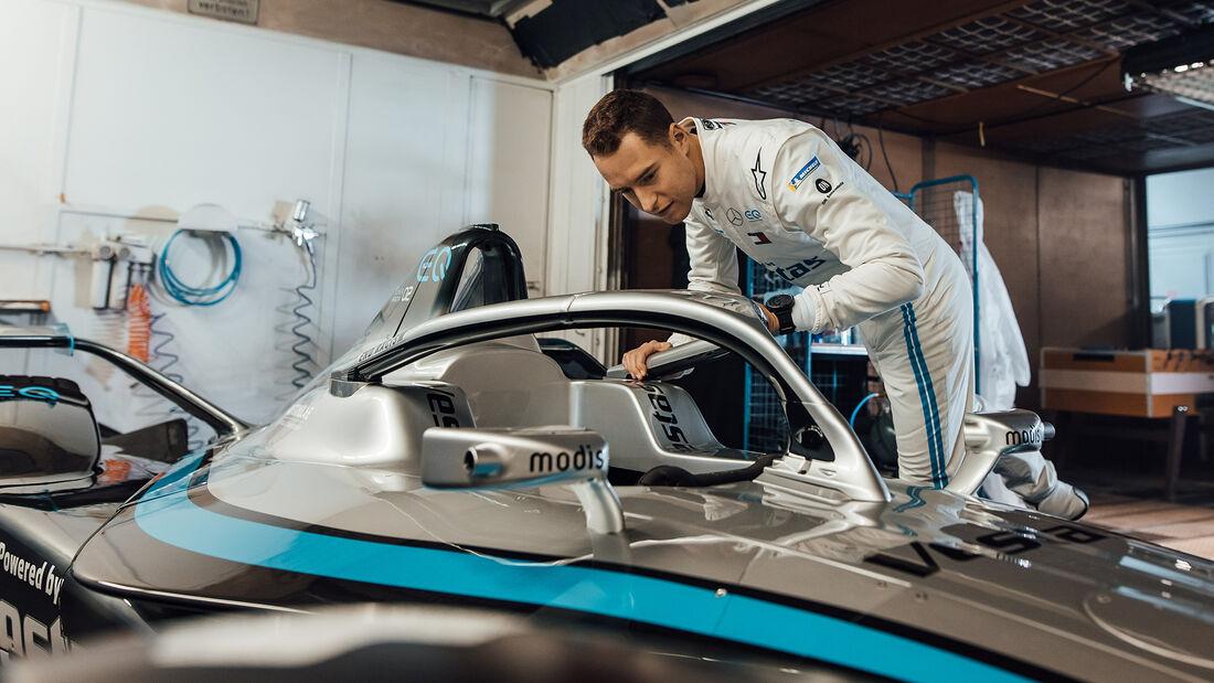 Stoffel Vandoorne - Mercedes-Benz EQ Silver Arrow 02 - Formel E