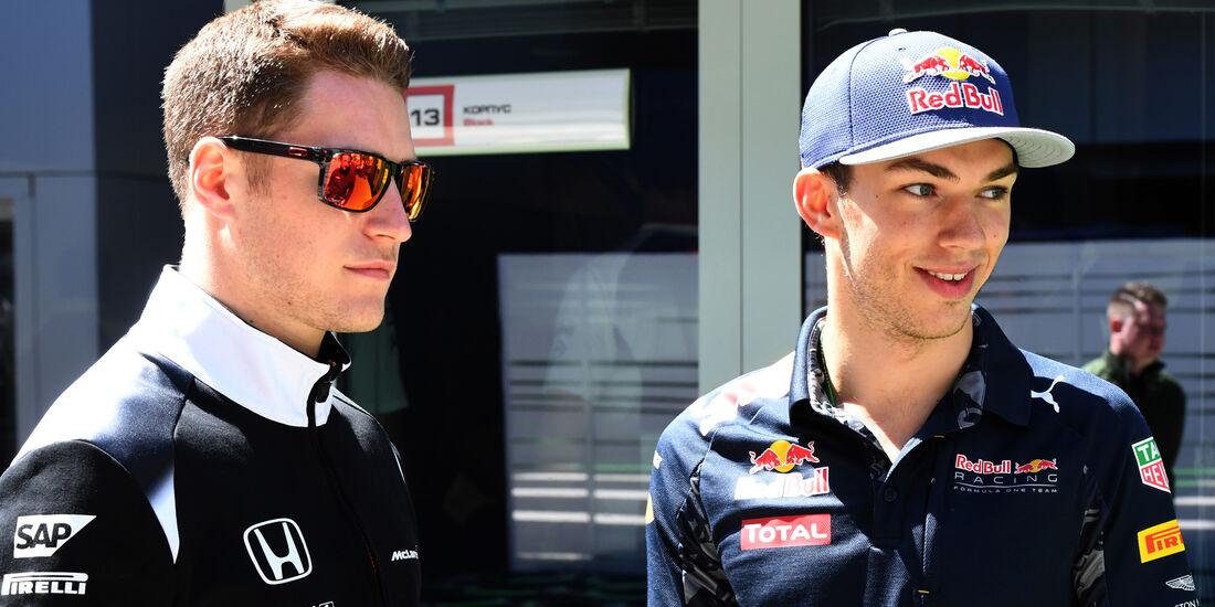 Stoffel Vandoorne & Pierre Gasly - GP Russland 2016