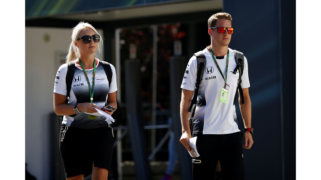 Stoffen Vandoorne - McLaren - Formel 1 - GP Belgien - Spa-Francorchamps - 25. August 2016