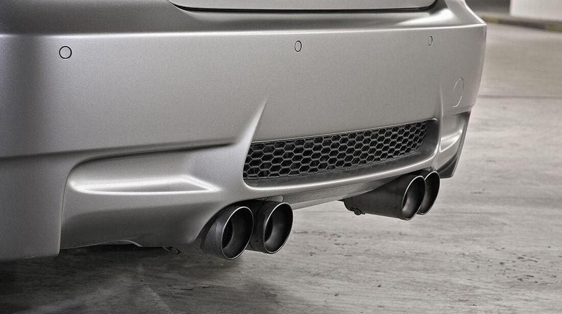 Stoptech BMW M3, Tuning, Auspuff