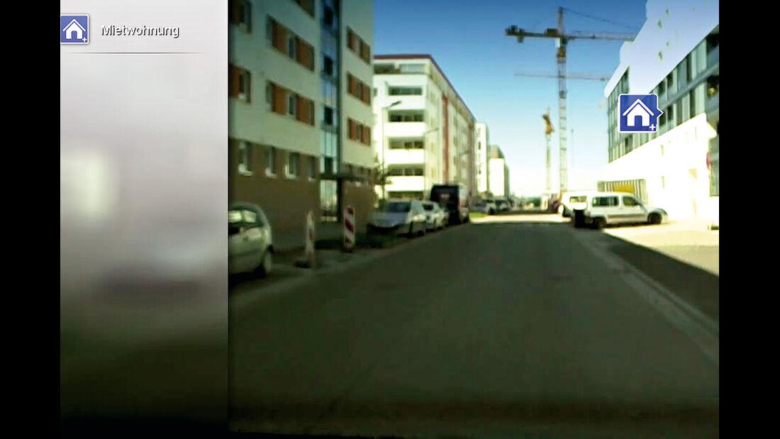 Straßenkarte, Navi