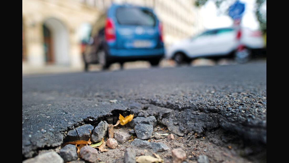 Straßenschäden, Schlagloch