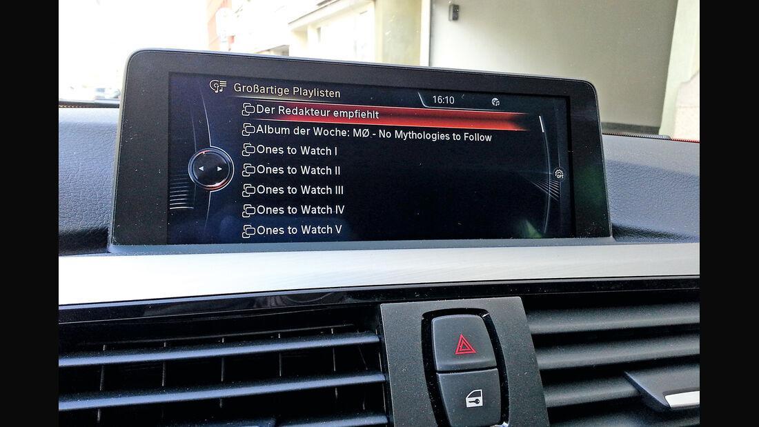 Streaming-Dienste, Infotainment, Monitor