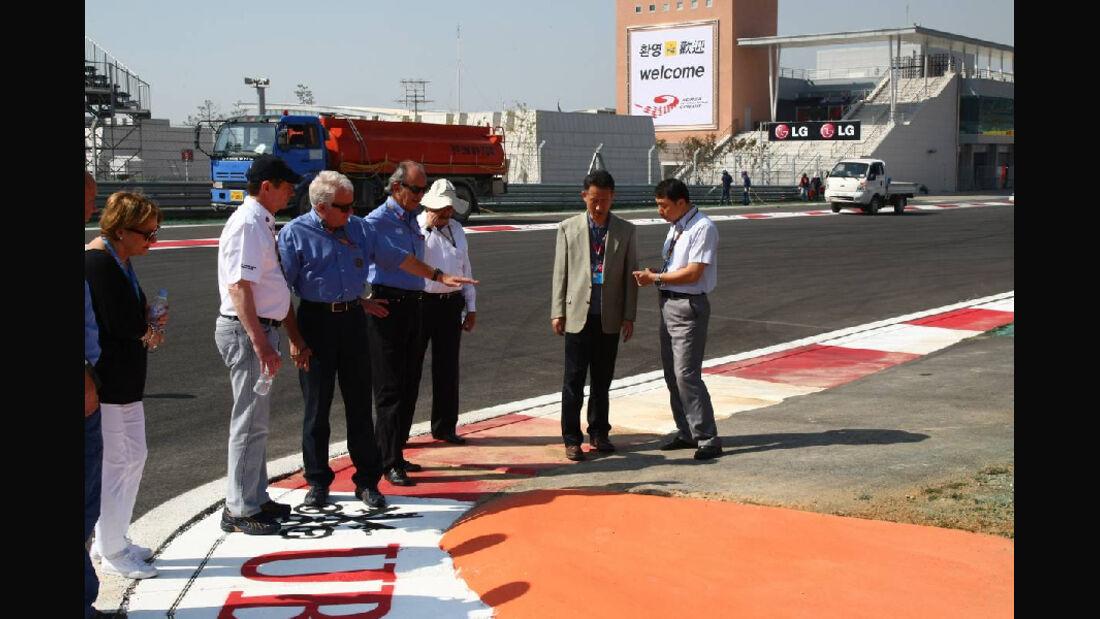 Strecke - Formel 1 - GP Korea - 13. Oktober 2011