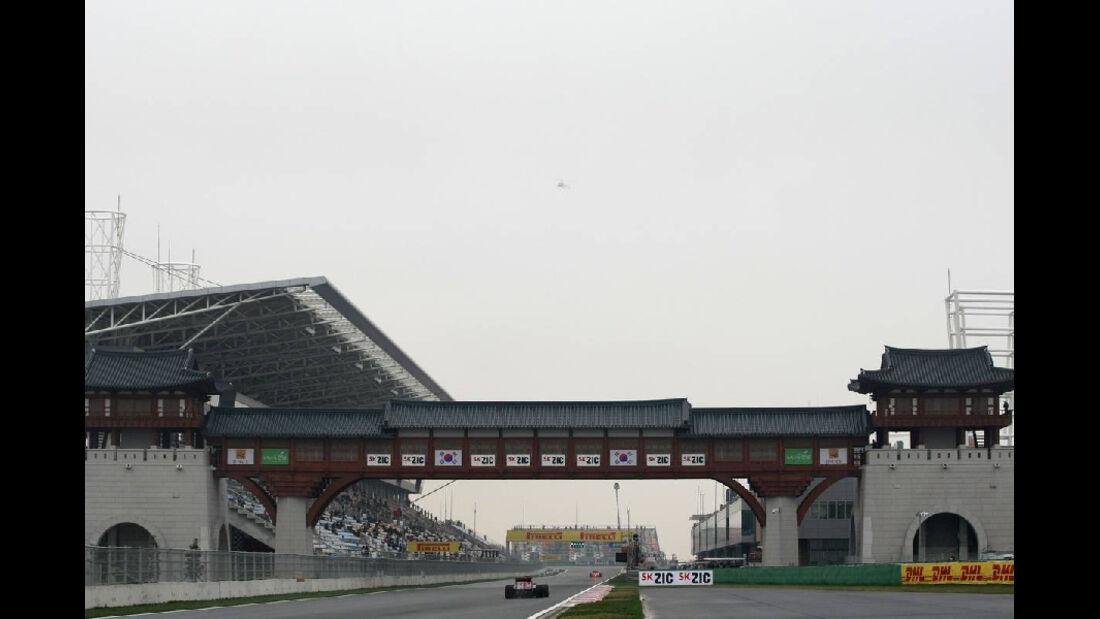 Strecke - Formel 1 - GP Korea - 14. Oktober 2011
