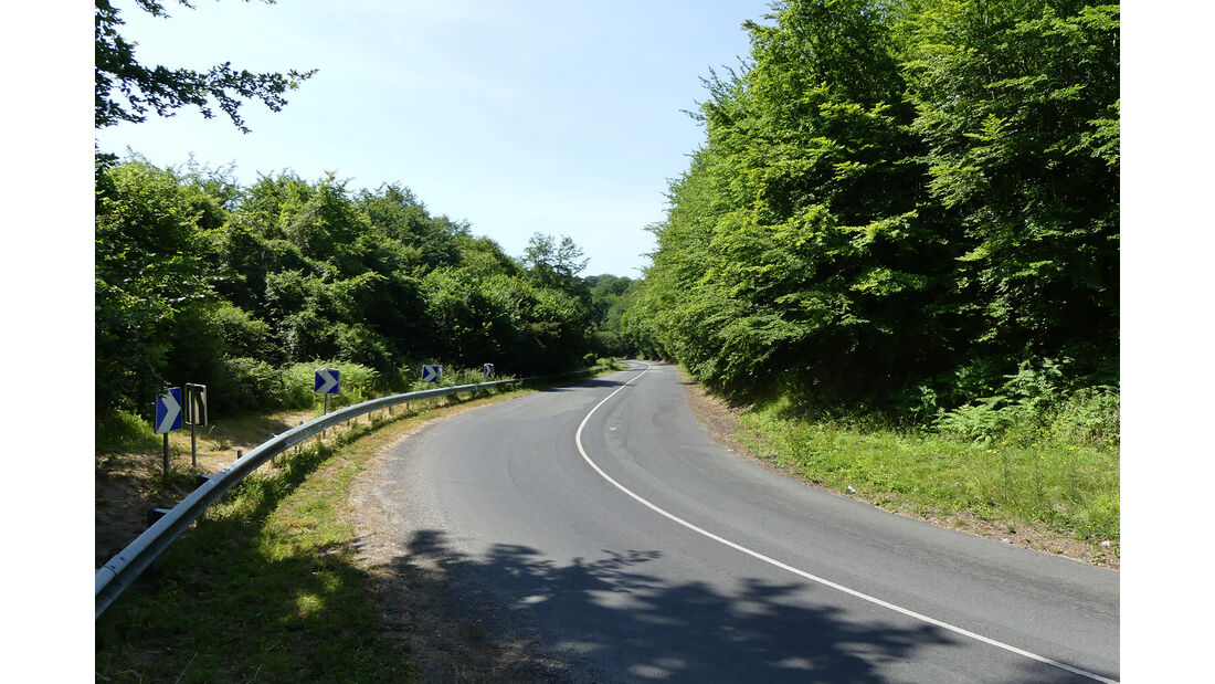 Strecke Rouen