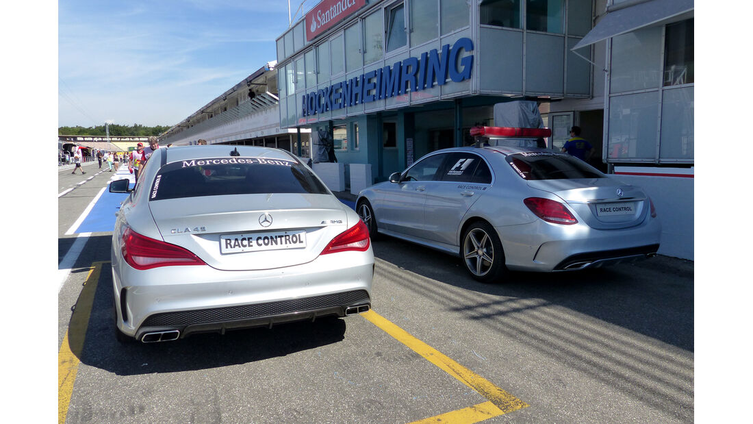 Strecken-Fahrzeuge - Formel 1 - GP Deutschland - Hockenheim - 17. Juli 2014
