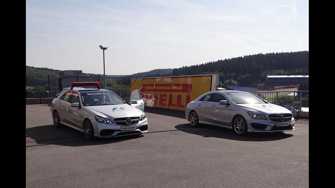 Streckenfahrzeug - Formel 1 - GP Belgien - Spa-Francorchamps - 22. August 2013