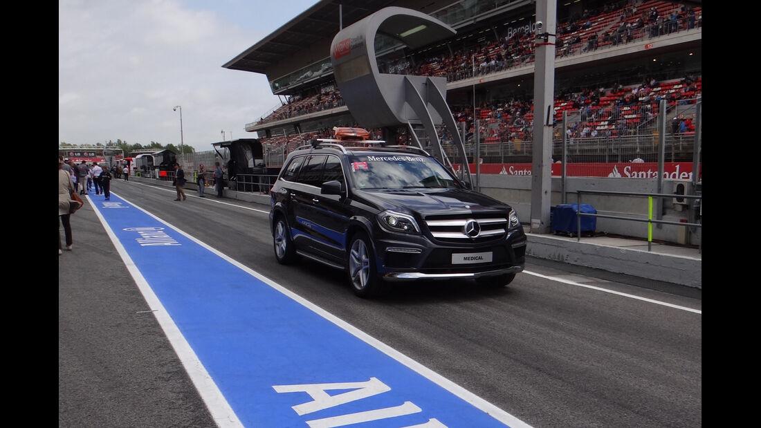 Streckenfahrzeug - Formel 1 - GP Spanien - 10. Mai 2013
