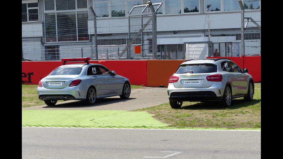 Streckenfahrzeuge - Formel 1 - GP Deutschland - Hockenheim - 16. Juli 2014