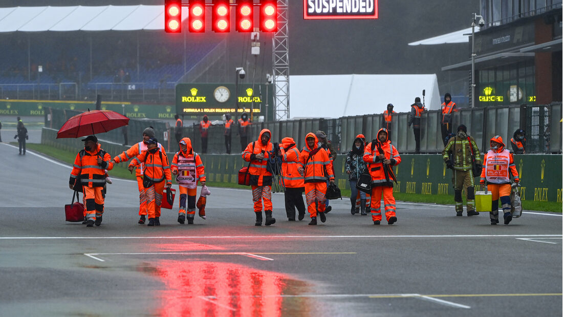 Streckenposten - Formel 1 - GP Belgien - 29. August 2021