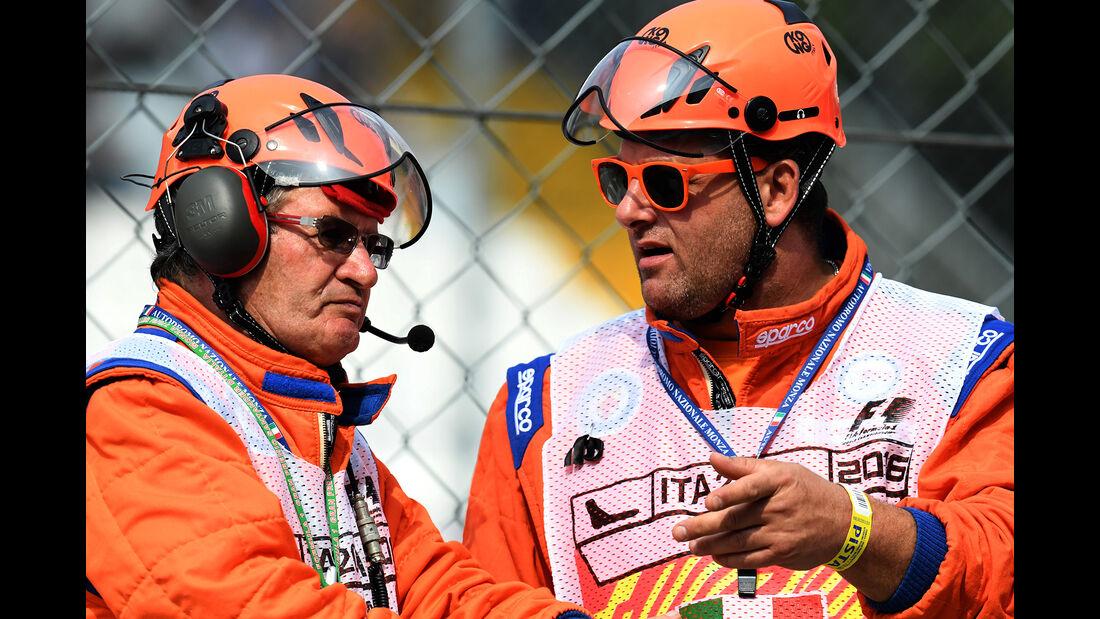 Streckenposten - Formel 1 - GP Italien - Monza - 3. September 2016
