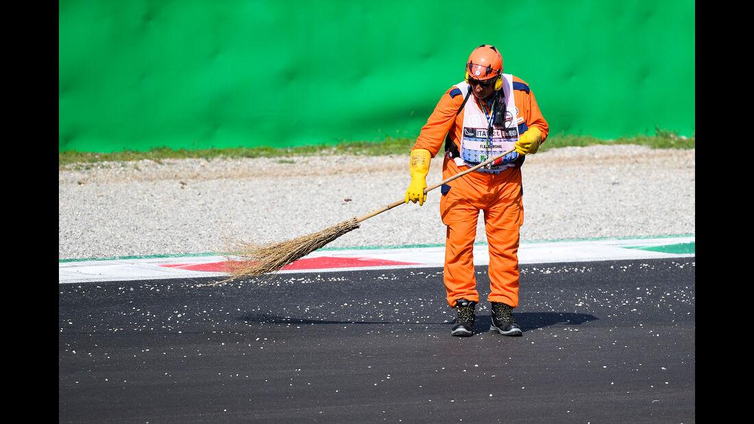 Streckenposten  - Formel 1 - GP Italien - Monza - 7. September 2019
