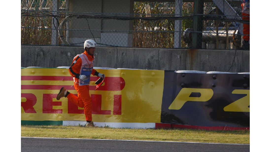 Streckenposten  - Formel 1 - GP Japan - 9. Oktober 2011