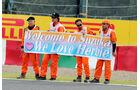 Streckenposten - Formel 1 - GP Japan - Suzuka - 4. Oktober 2014