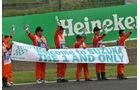 Streckenposten - Formel 1 - GP Japan - Suzuka - Qualifying - Samstag - 8.10.2016