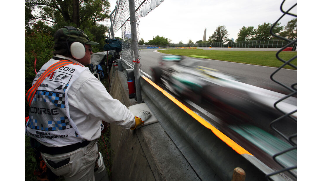 Streckenposten - Formel 1 - GP Kanada - 8. Juni 2012