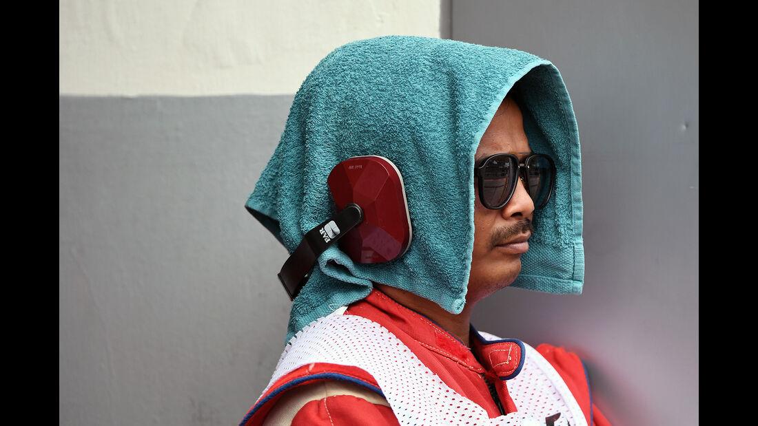 Streckenposten - Formel 1 - GP Malaysia - Sepang - 30. September 2017