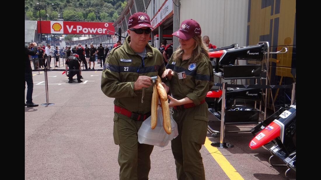 Streckenposten - Formel 1 - GP Monaco - 24. Mai 2012