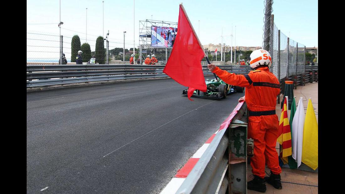 Streckenposten - Formel 1 - GP Monaco - 25. Mai 2013