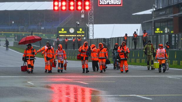 Streckenposten - GP Belgien - 29. August 2021