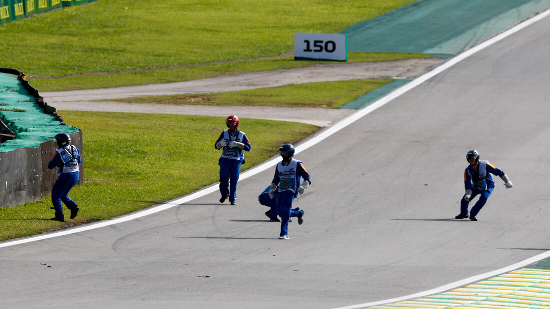 Streckenposten - GP Brasilien 2019