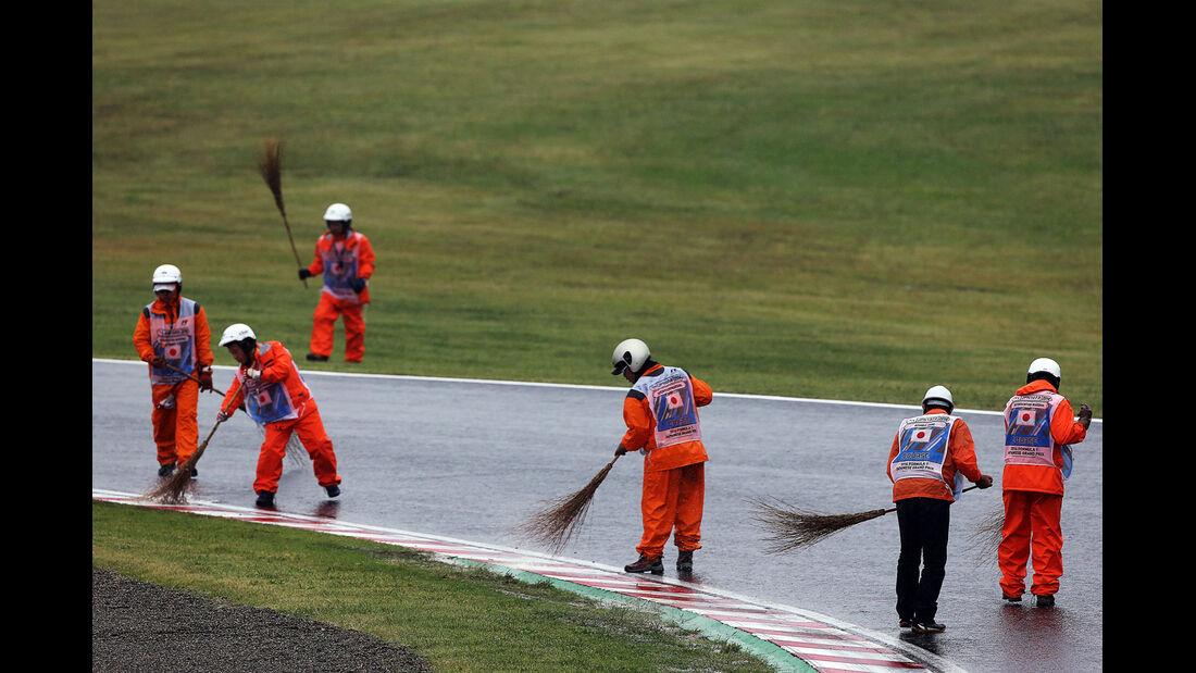 Streckenposten - GP Japan 2014