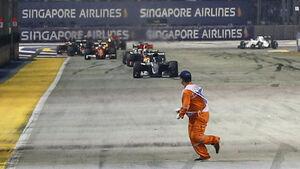 Streckenposten - GP Singapur 2016