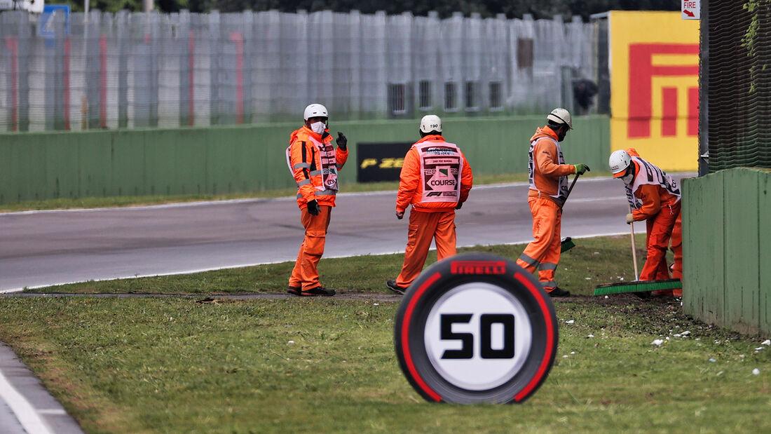 Streckenposten - Imola - Formel 1 - GP Emilia Romagna - 2021