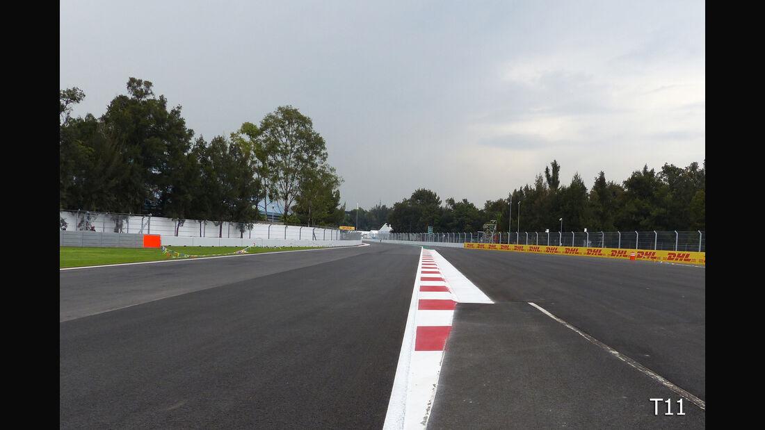 Streckenrundgang - Autodromo Hermanos Rodriguez - GP Mexio 2015