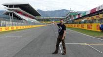 Streckenrundgang Mugello - GP Toskana - Formel 1 - 2020
