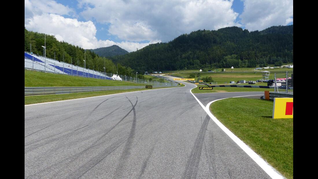 Streckenrundgang Red Bull Ring - Spielberg - GP Österreich 2014