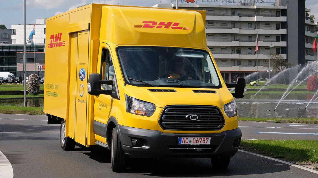 Streetscooter Post Elektrolieferwagen Ford Transit