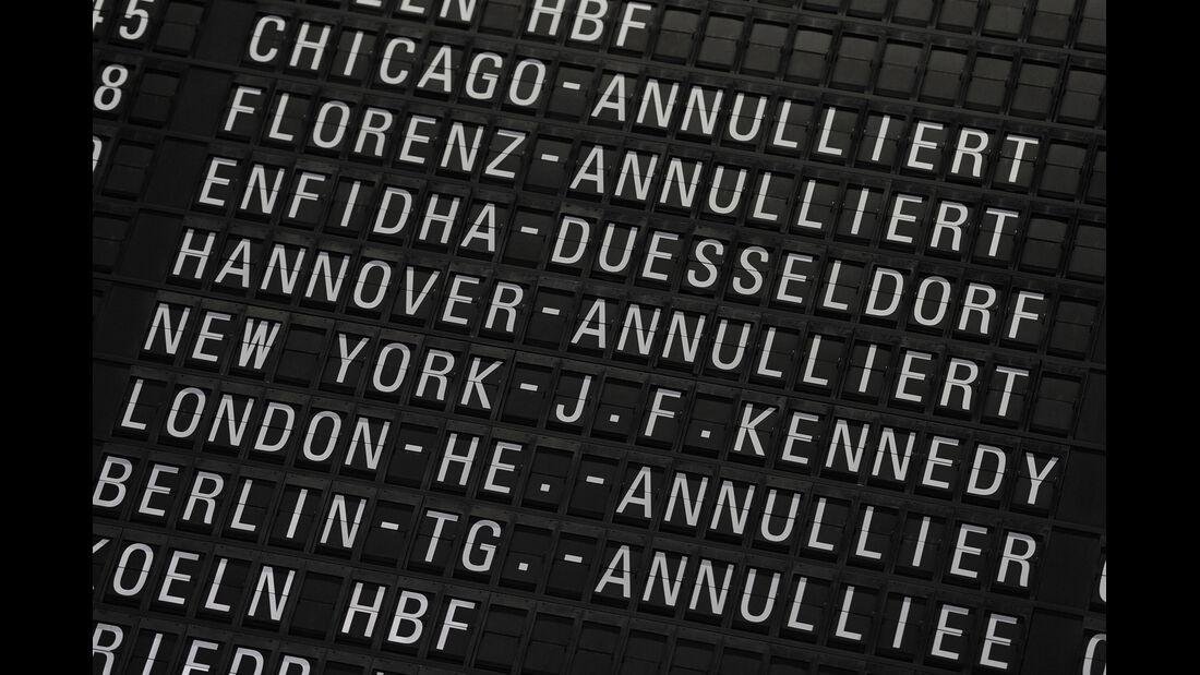 Streik Flughafen Frankfurt 2012