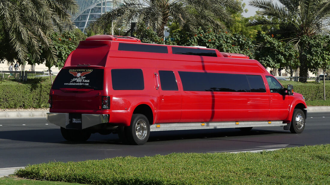 Stretch-Limousine - Carspotting - GP Abu Dhabi 2016