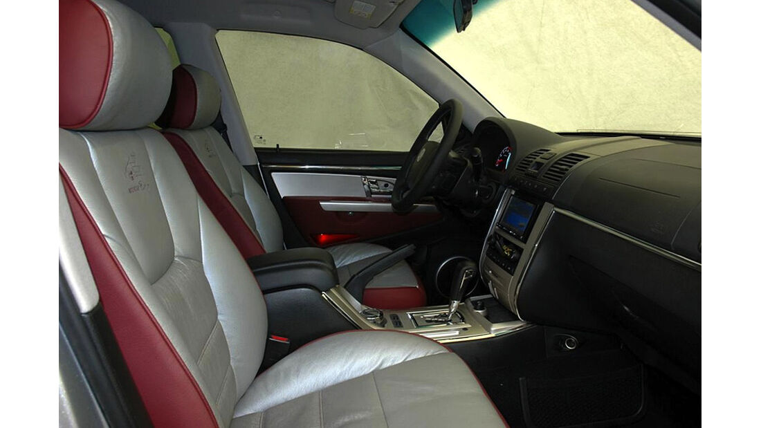 Stretch-Limousinen Innenraum