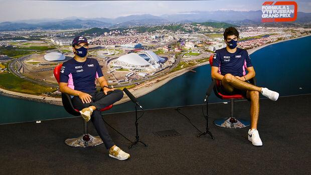 Stroll & Perez - Racing Point - GP Russland 2020