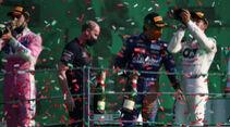 Stroll - Sainz - Gasly - GP Italien 2020 - Monza - Rennen