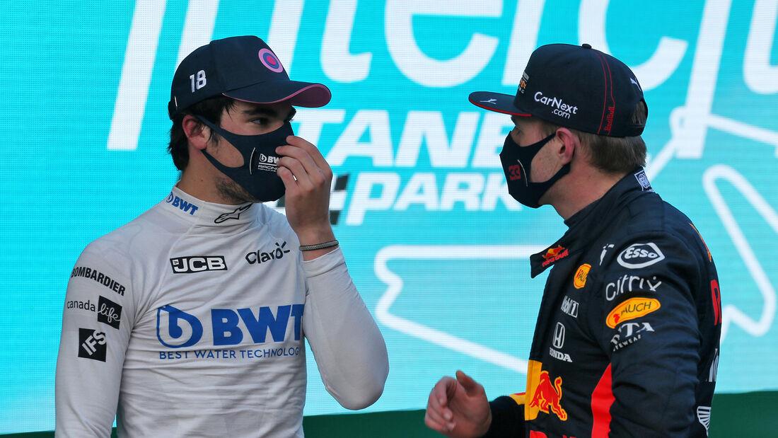 Stroll - Verstappen - Formel 1 - GP Türkei - Istanbul - Samstag - 14.11.2020