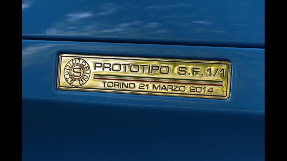 Studiotorino-Porsche Moncenisio, Plakette