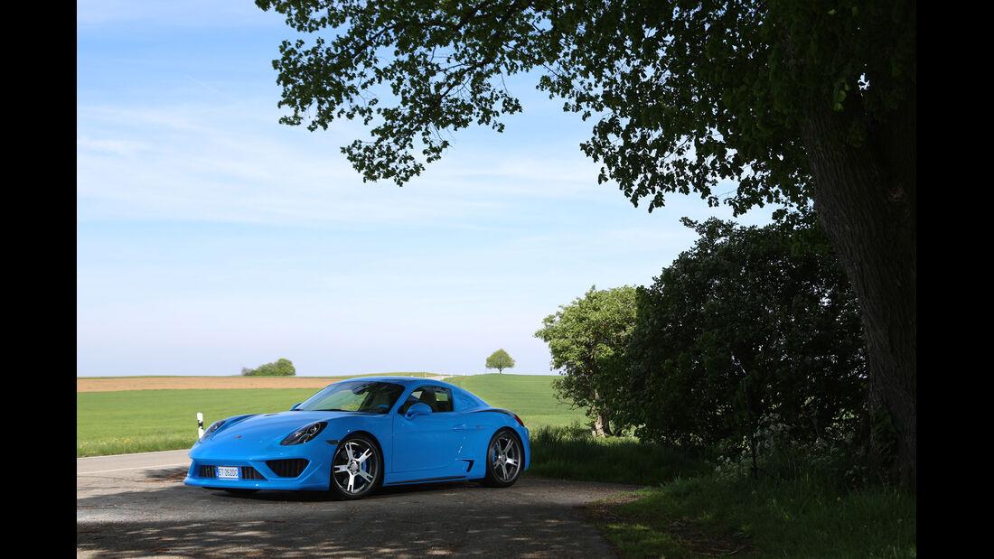 Studiotorino-Porsche Moncenisio, Seitenansicht