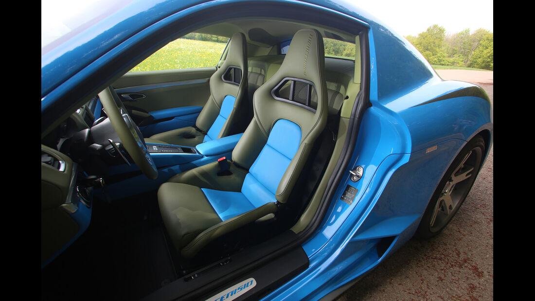 Studiotorino-Porsche Moncenisio, Sportsitz, Fahrersitz